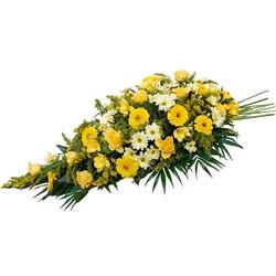 ambre gerbe de fleurs pour deuil