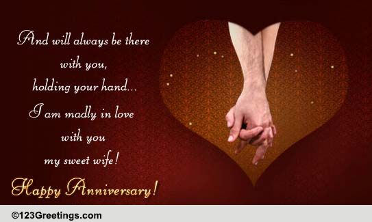 I Am Madly In Love With You My Wife Free For Her ECards Greeting Cards 123 Greetings