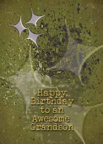 Happy Birthday Grandson Free Extended Family ECards Greeting Cards 123 Greetings
