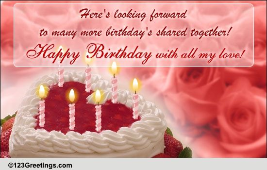 A Romantic Birthday Message Free Birthday For Her ECards 123 Greetings