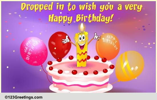 Wishes Birthday Facebook Animated