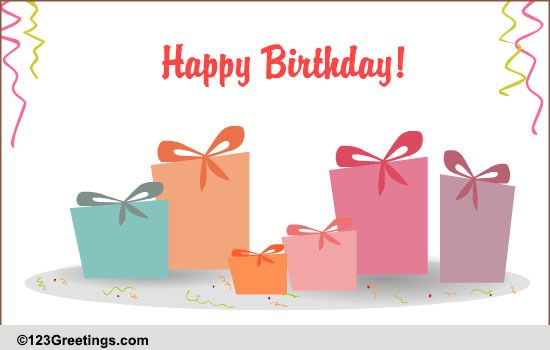 Happy B Day Greeting Cards