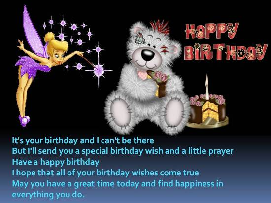 A Loving Birthday Wish For Loved One Free Happy Birthday ECards 123 Greetings