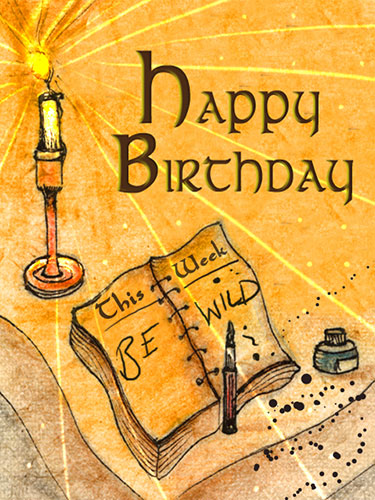 Be Wild On Your Birthday Free Happy Birthday ECards Greeting Cards 123 Greetings
