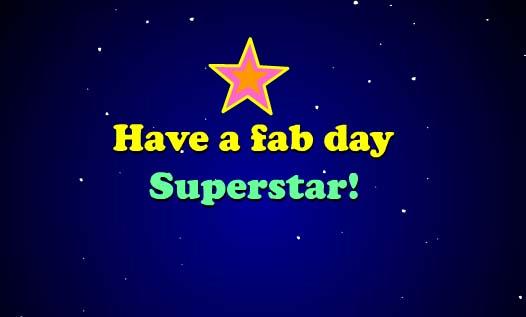 Happy Birthday Superstar Free Happy Birthday Ecards
