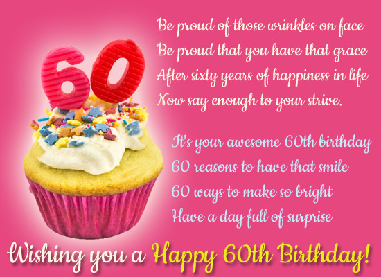 It S Ur Awesome 60th Birthday Free Milestones Ecards