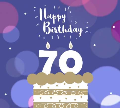 Happy 70th Birthday Free Milestones ECards Greeting Cards 123 Greetings