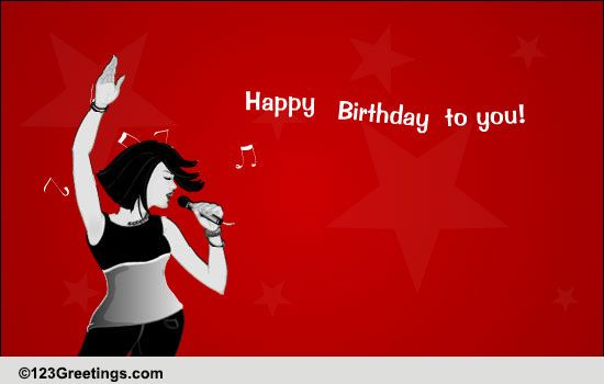 Sing Happy Birthday To You Free Songs ECards Greeting Cards 123 Greetings