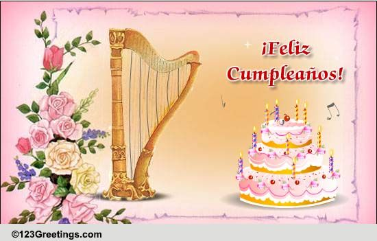 A Beautiful Bday Wish In Spanish Free Specials ECards Greeting Cards 123 Greetings