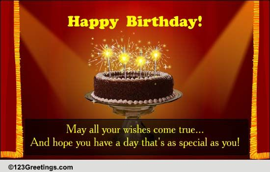 Birthday Star Free Birthday Wishes ECards Greeting Cards 123 Greetings