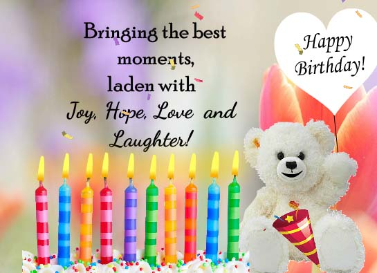 Warm Sincere Heartfelt Wishes Free Birthday Wishes ECards 123 Greetings