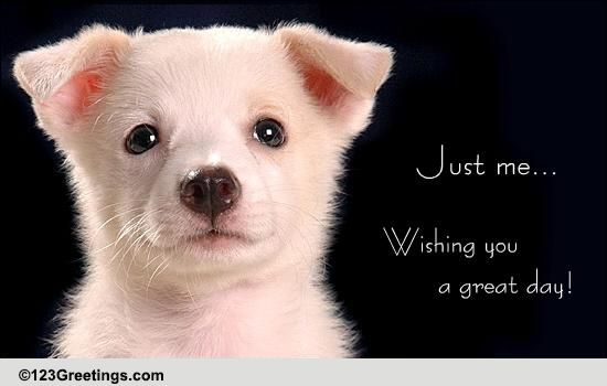 Have A Great Day Free Cute Etc ECards Greeting Cards 123 Greetings