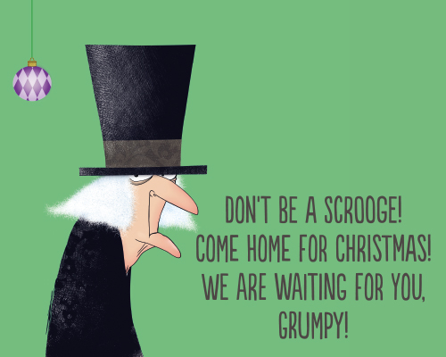 Dont Be A Scrooge Free Family ECards Greeting Cards