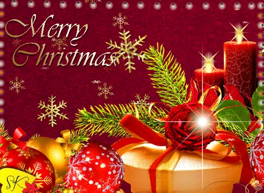 Merry Christmas Warm Wishes Greetings Free Merry
