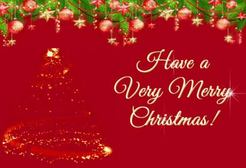 Sparking Christmas Greetings Free Merry Christmas Wishes