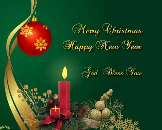 Candle Of Joy And Happiness Free Merry Christmas Wishes