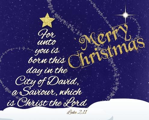 Luke 211 Christmas Blessing Free Religious Blessings