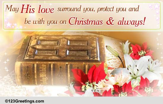 On Christmas And Always Free Religious Blessings ECards