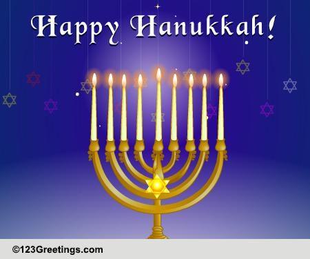 Light It Up This Hanukkah Free Happy Hanukkah ECards Greeting Cards 123 Greetings