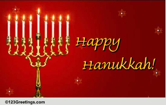 Hanukkah Blessings By The Almighty Free Religious Blessings ECards 123 Greetings