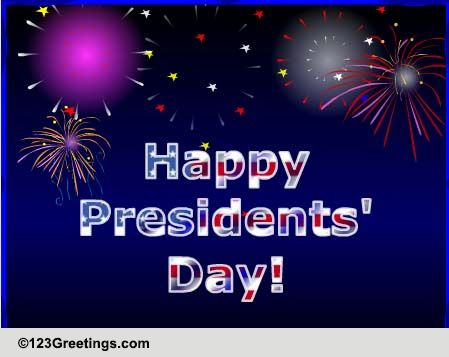 Presidents Day Cards Free Presidents Day Wishes Greeting Cards 123 Greetings