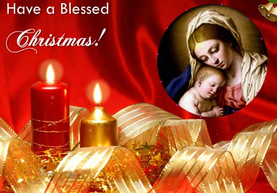 Peace And Blessings Free Orthodox Christmas ECards
