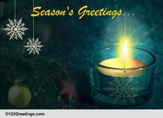 Seasons Blessings And Good Tidings Free Seasonal