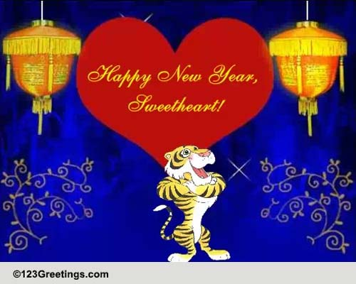 Happy New Year Sweetheart Free Vietnamese New Year ECards 123 Greetings
