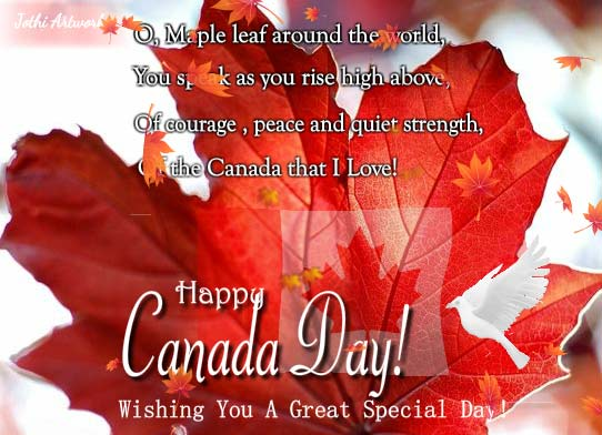 Special Canada Day Wishes Free Canada Day ECards Greeting Cards 123 Greetings