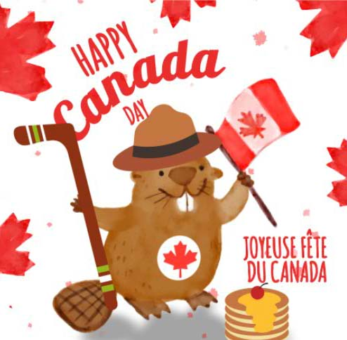 Happy Canada Day Free Canada Day ECards Greeting Cards 123 Greetings