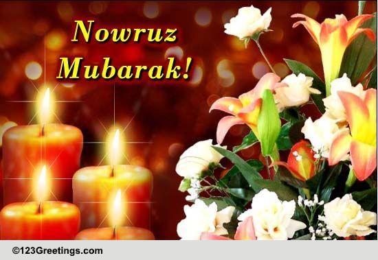 Nowruz Mubarak Free Nowruz ECards Greeting Cards 123