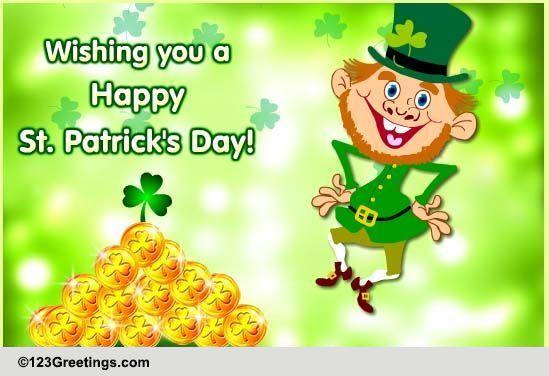 St Patricks Day Free Happy St Patricks Day ECards Greeting Cards 123 Greetings