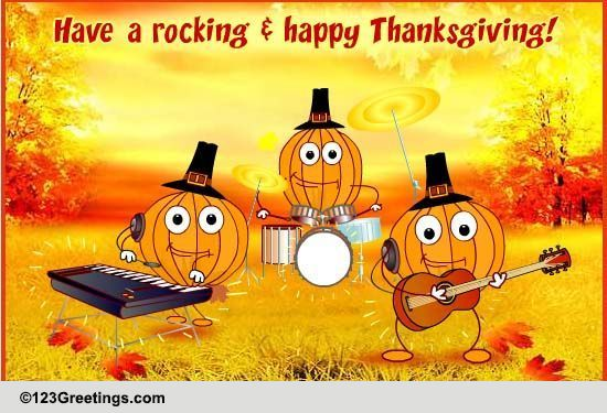 A Thanksgiving Song Free Happy Thanksgiving ECards Greeting Cards 123 Greetings