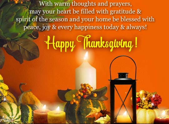 Thanksgiving Thoughts Amp Prayers Free Happy Thanksgiving