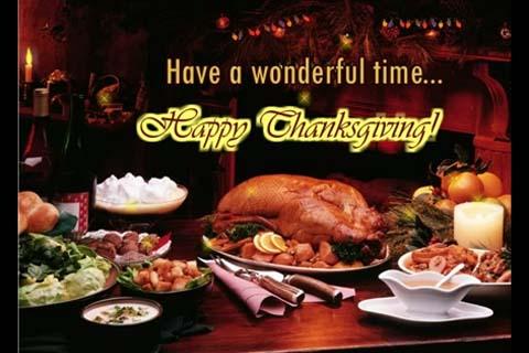 Enjoy Plenty Of Good Foods Free Happy Thanksgiving ECards 123 Greetings