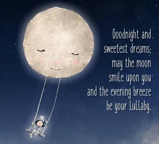 Good Night And Sweetest Dreams Free Good Night ECards Greeting Cards 123 Greetings