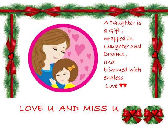 Missing Your Beloved Daughter Free Miss You ECards
