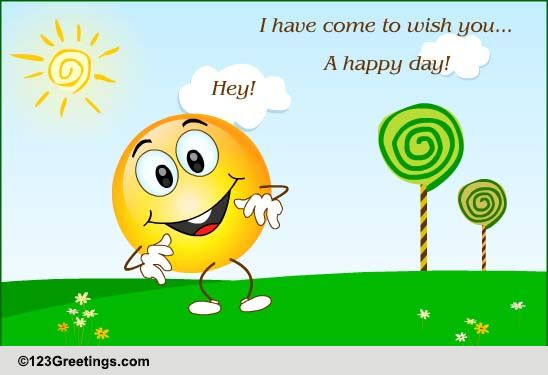 Happy Day Free Tuesday Toons eCards Greeting Cards 123