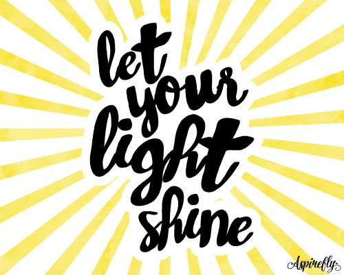 Let Your Light Shine. Free Encouragement eCards, Greeting ...