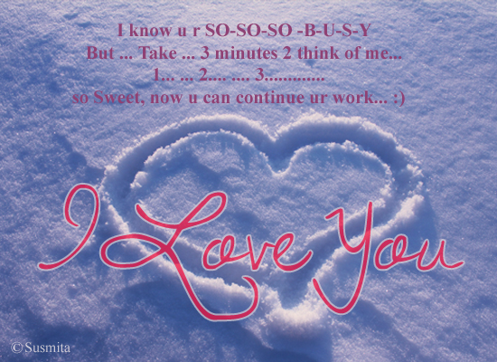 Thinking Of You! Free Madly in Love eCards, Greeting Cards ...