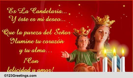 Spanish Da De La Candelaria Cards Free Spanish Da De La