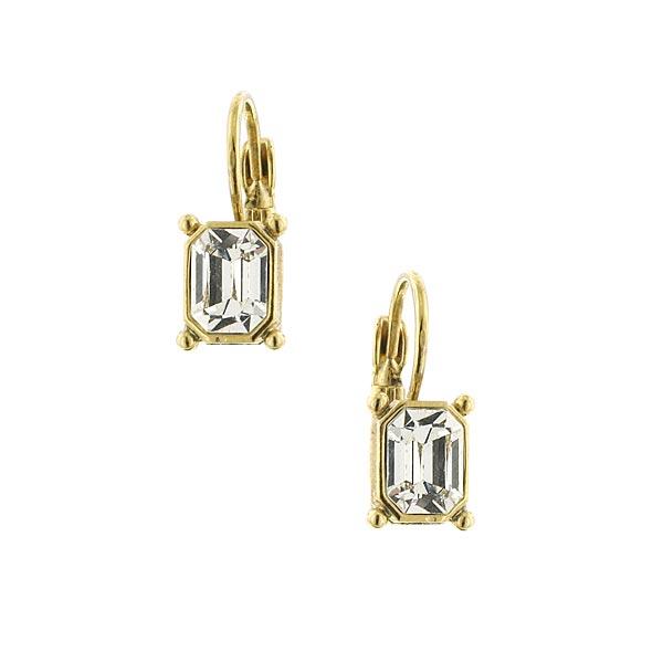 Dolores Crystal Art Deco Earrings