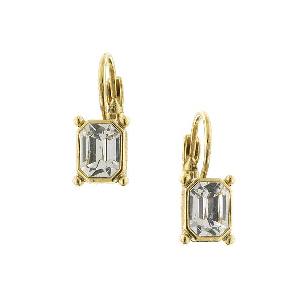Alex Nicole® Dolores Crystal Art Deco Earrings