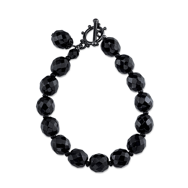 Black Tie Affair Lux Beaded Bracelet