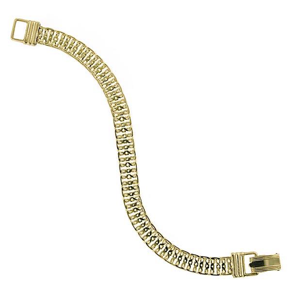 Signature Gold-Tone Link Bracelet