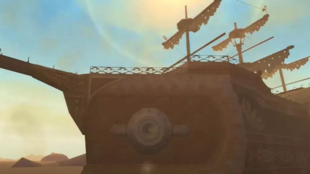 Sands Galleon - Skyward Sword