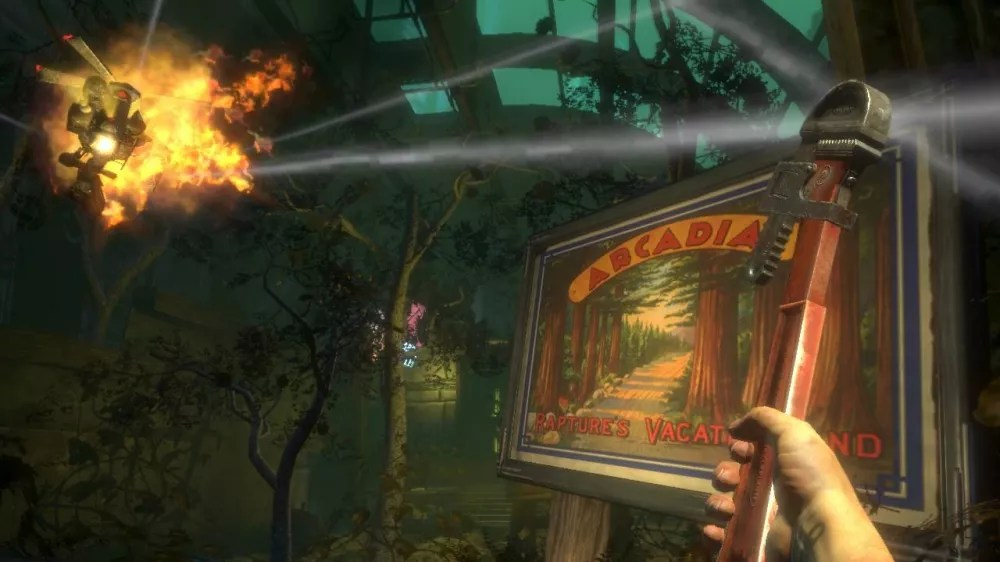 Spanners in BioShock 2 and Infinite