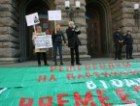 Protests of the Council of Ministers against low incomes (PHOTOS)