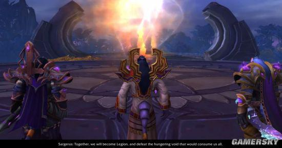 《魔獸世界》7.3新過場動畫 薩格拉斯邀請艾瑞達三巨頭   電玩01