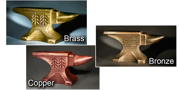 En İyi 3D Yazıcı Filamenti Türleri: Metal